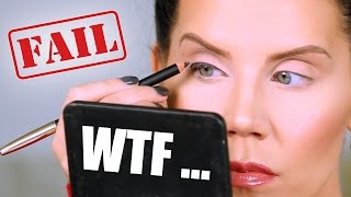 Download $57 EYELINER FAIL ... WTF | First Impressions Video