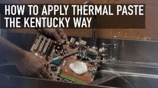 Download How to Apply Thermal Paste the Kentucky Way Video