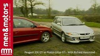 Download Peugeot 206 GTi vs Proton Lotus GTi - With Richard Hammond Video