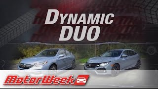 Download Road Test: 2017 Honda Accord Hybrid & Civic Hatchback - Dynamic Duo Video