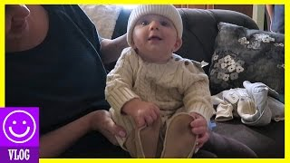 Download NEW FALL CLOTHES FOR BABY MICAH! | KITTIESMAMA Video