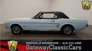 Download 1966 Ford Mustang, Gateway Classic Cars-Nashville#315 Video
