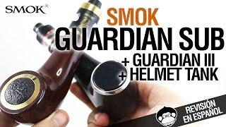Download Smok Guardian Sub Kit & Guardian III & Helmet Tank - vapeando con estilo - revision Video