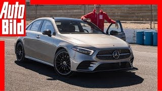 Download Mercedes A-Klasse Limousine (2018) Fahrbericht / Review / Erklärung Video