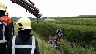 Download Auto te water Zuidelijke Randweg Middelharnis Video