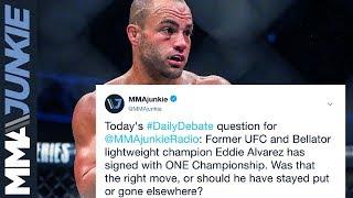 Download MMAjunkie Radio Daily Debate: Was move to ONE Championship right move for Eddie Alvarez Video