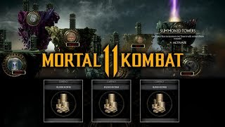Download Mortal Kombat 11 - How to Get a Summoned Tower Key and Farm Koins (500K Per Hour) Video