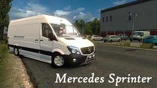 Download Mercedes-Benz Sprinter - Euro Truck Simulator 2 V1.25 [ETS2] Video