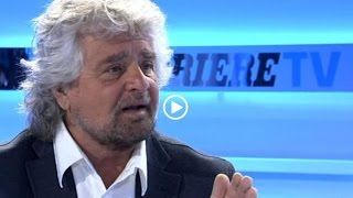 Download Beppe Grillo al Corriere - Intervista (INTEGRALE) Video