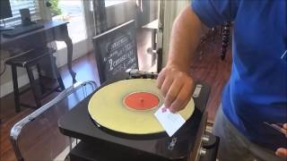 Download Cleaning Old Vinyl Records with Wood Glue by Eric G. Meeks 7.26.2015 Video