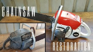 Download Seized 1960s Chainsaw Restoration Video