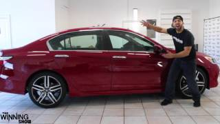 Download 2017 SPORT SPECIAL EDITION RED HONDA ACCORD TINTED BY WINNING WINDOW TINTS! Video