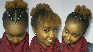 Download Cute Natural Hair Styles For Short 4C Hair // Beauty by Wabosha Video