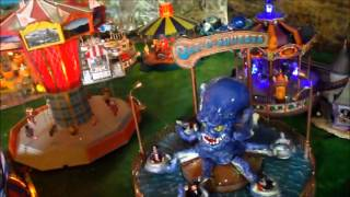 Download Diorama carnival fairground lemax lionel etc.... O scale 1/43 Video