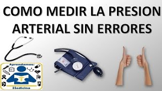 Download Como medir la presion arterial sin errores Video
