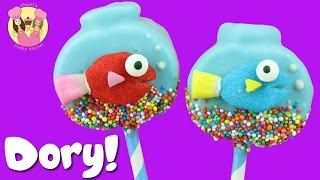 Download FINDING DORY MARSHMALLOW POPS - fish bowl aquarium treat kids baking Video
