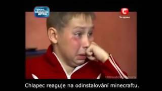 Download Ukrainské dítě nechce vypnout minecraft Video