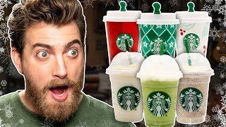 Download Starbucks Year-Round Holiday Drinks Taste Test Video