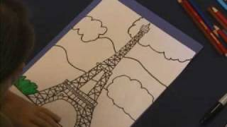 Download Draw The Eiffel Tower Video