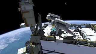 Download Expedition 61 - Spacewalk EVA 62 Animation Video
