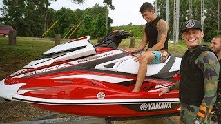 Download I BOUGHT MY BEST FRIEND HIS DREAM JET SKI! (2018 Yamaha GP1800) **Emotional** Video