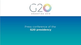 Download Press conference of the G20 presidency Video