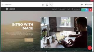 Download New Mobirise Website Builder 3.0 Video