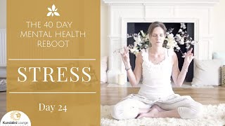 Download Stress Relief - Yoga for Mental Health - Day 24 with Mariya Gancheva Video