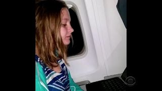 Download Autistic girl from Oregon kicked off airplane Video