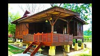 Download บ้านไม้ชั้นเดียวยกพื้นสวยๆ สไตล์บ้านสวน Video