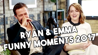 Download Ryan Gosling and Emma Stone | La La Land | Funny Moments 2017 Video