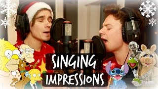 Download CHRISTMAS SINGING IMPRESSIONS WITH CONOR MAYNARD Video