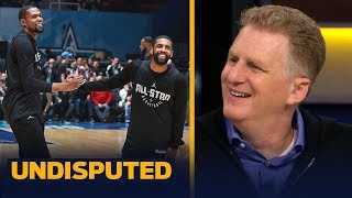 Download Michael Rapaport: Knicks have never had a star like Kevin Durant, talks Kyrie | NBA | UNDISPUTED Video