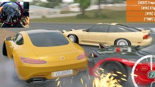 Download Forza Horizon 3 GoPro NO Traffic Glitch!! FREEDOM Online!! AMG GTS Video