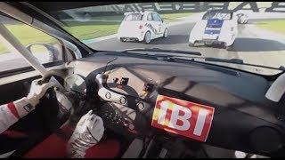 Download Abarth 695 EVO || POV Onboard 360° || Cosimo Barberini || Trofeo Abarth Selenia Mugello Circuit Video