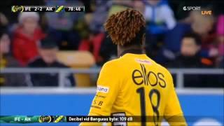 Download Ellos - AIK - Bangura byts in (2013-04-01) Video