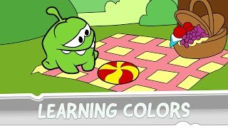 Download Learning Colors with Om Nom - Mad Tea Party Video
