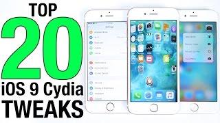 Download Top 20 iOS 9 Cydia Tweaks So Far! 9.0.2 Pangu Jailbreak Compatible Video