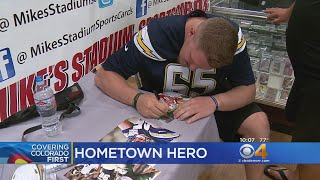 Download 'My Village Is Massive': Former CSU Ram Now Signing Autographs Video