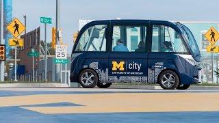 Download Mcity Shuttle B roll Video