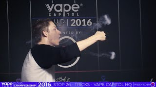 Download VC Cloud Championship 2016 - Vape Capitol HQ - Vape Tricks Video