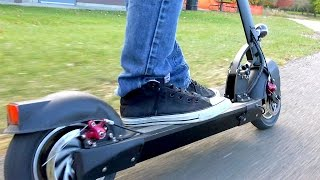 Download Fast Electric Scooter - Monorover R4 Video