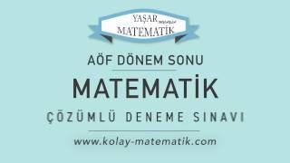 Download (AÖF) Mat-1 Dönem Sonu Çözümlü Deneme Sınavı (Çıkmış Sorular) Video