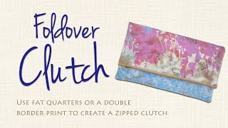 Download Easy Foldover Clutch DIY: Sew it Yourself! Video