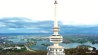 Download 航拍堪培拉的澳洲电信塔。/Telstra Tower of Canberra. Video