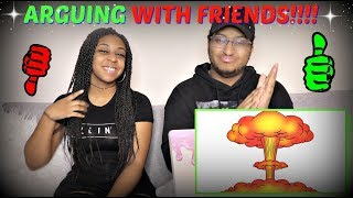 Download sWooZie ″Arguing With Friends Be Like...″ REACTION!!! Video