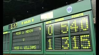 Download 2001 Golden Moment - Henin v Williams Video