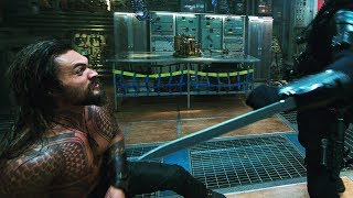 Download Aquaman vs Black Manta. Submarine | Aquaman [4k, HDR] Video