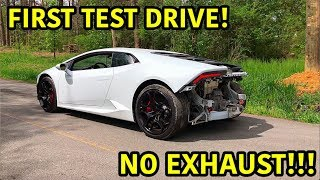 Download Rebuilding A Wrecked Lamborghini Huracan Part 9 Video