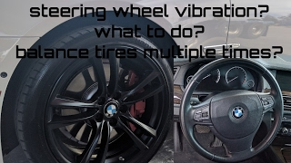 Download BMW steering wheel vibration after 60 MPH Mercedes Benz Audi Cadillac Land Rover Video